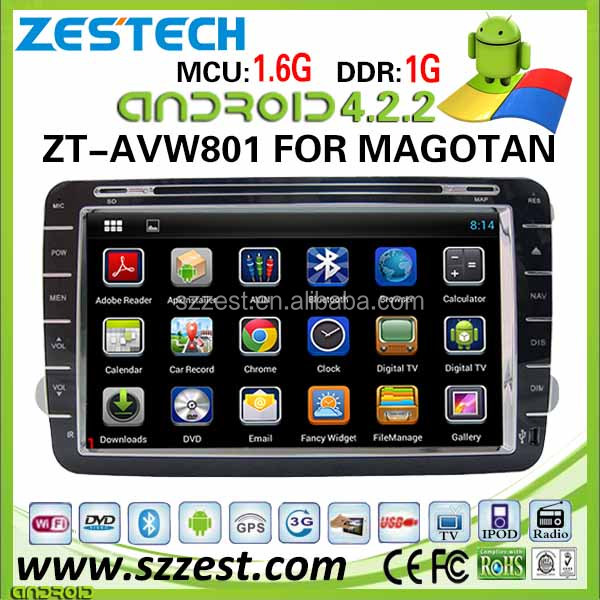 ZESTECH 2 din android car pc for volkswagen car dvd gps navigation