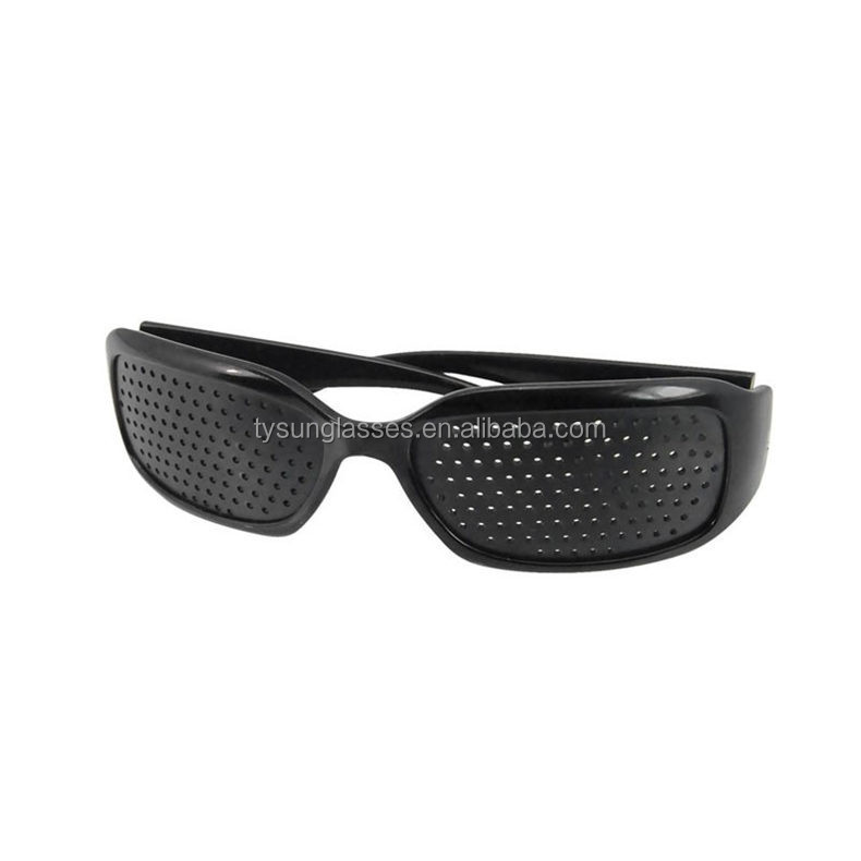 Black Pinhole Sunglasses Women Men Anti-fatigue Vision