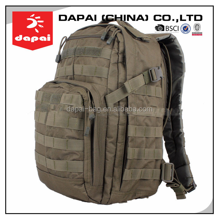 Rough Nylon Waterproof 511 Tactical Bag Army Military Backpack ...