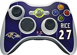 NFL Baltimore Ravens Xbox 360 Wireless Controller Skin - Ray Rice - Baltimore Ravens Vinyl Decal Skin For Your Xbox 360 Wireless Controller