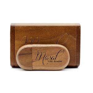 wooden box gift usb flash drive 4gb 8gb 16gb 32gb 64gb Customized logo usb flash stick factory price wooden pendrive