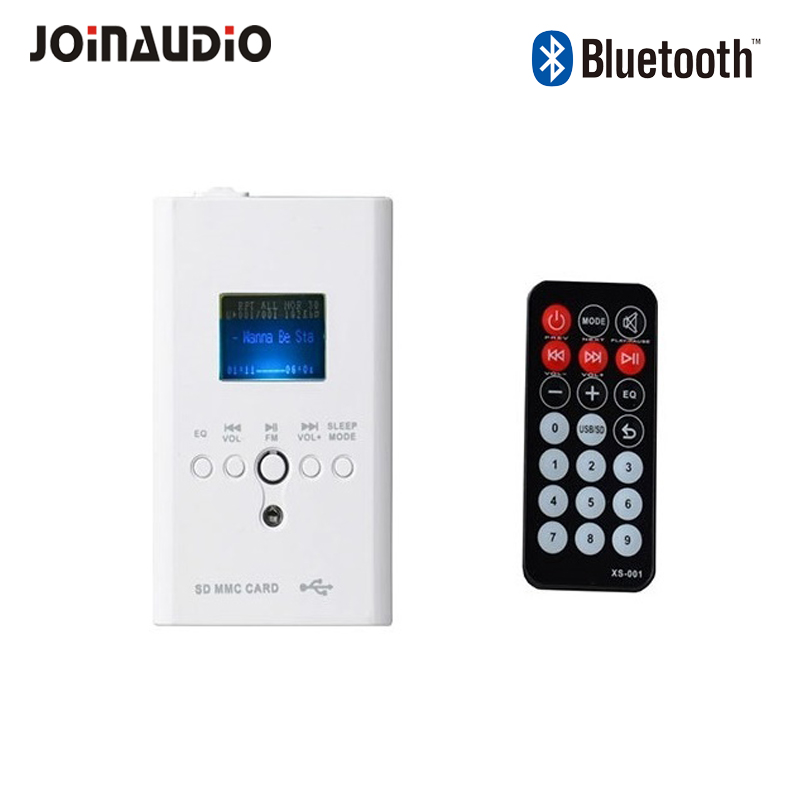 CE Stereo wall audio Bluetooth Amplifier with remote control for smart house