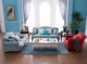 cotton fabric 123 cheers sofa hom living room fancy sofa furniture LS-020