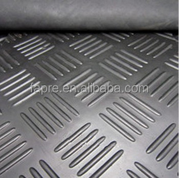 Checker Rubber Sheet Floor /rubber Mats/Roll Out Garage Flooring