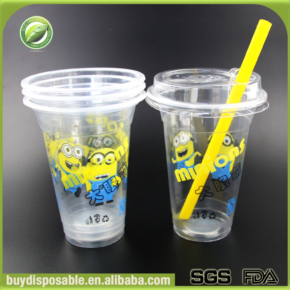 plastic fancy insulated coffee ice cream cups fruit cups container