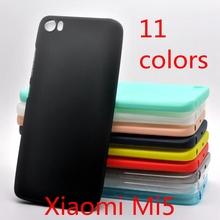 Phone Case for Xiaomi Mi5 (5.15 inch) Ultra Slim Fit 0.5mm Soft Transparent & Matte TPU Cover for Xiaomi Mi5