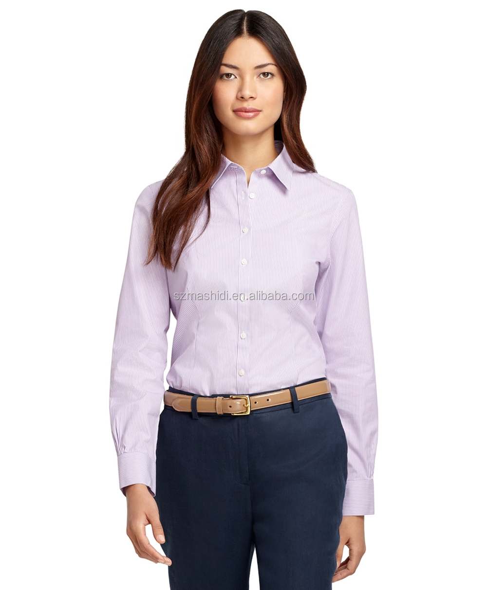 Trendy And Popular Office Uniform Designs For Women Slim Fit Dress ...