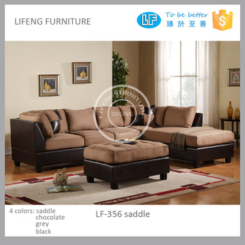 Promotional Big Corner Sofa Puffy And Comfortable Room Furniture ...