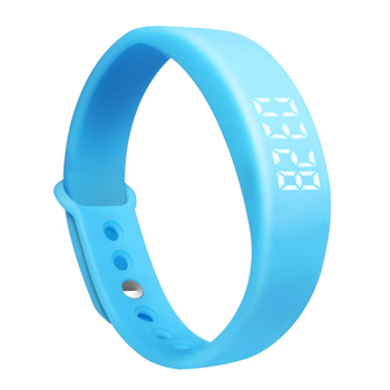 Custom Logo 3d Pedometer Watch  Smart Wristband Sport Fitness Activity Tracker