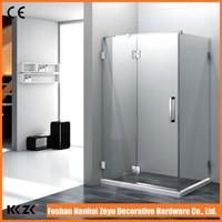 New Arrival Factory Bathtub Frameless Glass Shower Door
