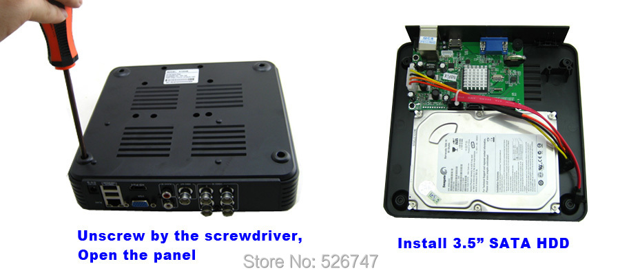 Onvif Mini HD CCTV NVR 8CH Video Recorder 8 Channel H 264 Network DVR For  720P 1080P IP Camera System P2P Cloud EU Plug HotSale