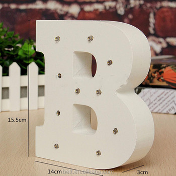 wooden font led marquee letter lights vintage circus style alphabet