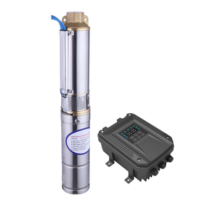 100m cheap helical solar 24v dc water pump system borehole pump price (3FLS1.8/100-D24/270)