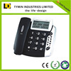 Phonebook function 16- digit telephone number and name disply telephone landline phone corded telephone for english market