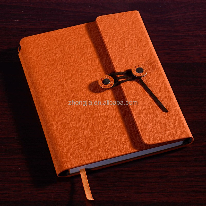 Creative design notebook agenda organizer journal diary leather cover