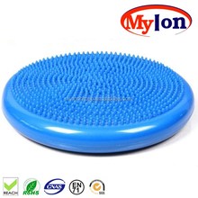 "13"" Athletic Inflatable Twist Massage Balance Stability Fitness Cushion Disc to Improve Balance & Flexibility"