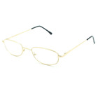 Custom slim Cheap metal frame eyewear women men reading glasses