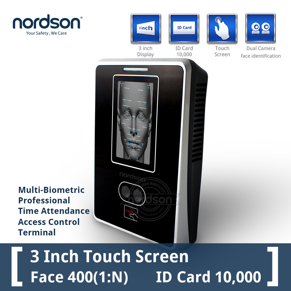 Biometric face recognition time attendance and access control system with RFID password