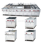 Stainless Steel Industrial Catering Kitchen Equipment /Natural Gas cooking Ranges Equipment
