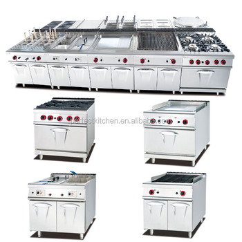 Stainless Steel Industrial Catering Kitchen Equipment /natural Gas ...