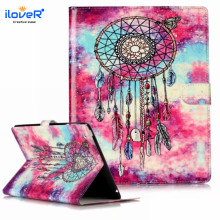 Fancy marble Pattern Design PU Case for iPad4, Leather Case for iPad 3