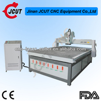 China JCUT woodworking machinery computer cabinet making cnc 2d wood carving milling tiki machine