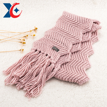 Wholesale cotton long men acrylic schal echarpe winter scarves for women