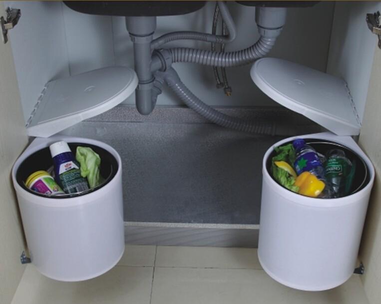 Automatische rvs school vuilnisbak kleine keuken sensor prullenbak