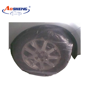 Pe Disposable Tire Storage Bags