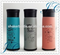Fashion cartoon design vacuum cup stainless steel vacuum cup for kits
