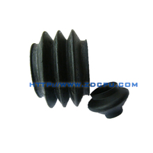 Custom NBR rubber dust cover bellows for mechanical parts
