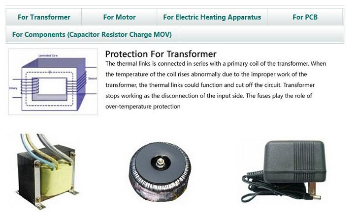 Good Price Refrigerator Thermal Fuse Link Temperature Fuse 10a 250v 15a  125v Ceramic Hinode Daito Temperature Jet Thermal Fuse - Buy Jet Thermal