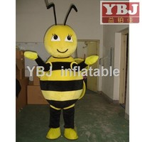 2015 New arrival lovely bee mascot costume adult bee mascot costume