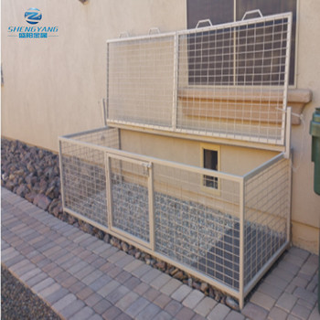 guaranteed strongest welded steel frame alligator proof pet kennels