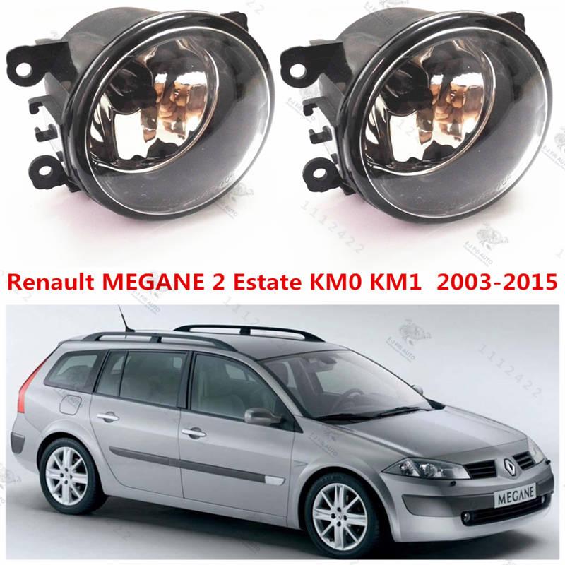 for renault megane 2 estate 2002 2015 front fog lamps fog lights halogen car styling 1 set 35500. Black Bedroom Furniture Sets. Home Design Ideas