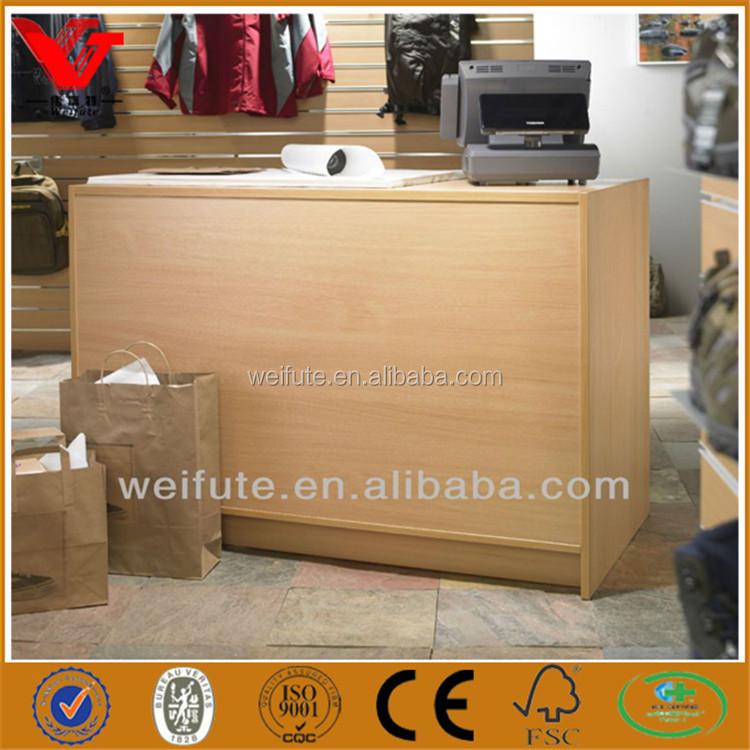 Premium Quality Cash Counter Table,Wooden Cashier Counter,Shop ...