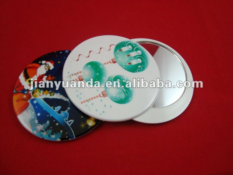 Revolcing cover cosmetic mirror/compact mirro/pocket mirror for gift promotion