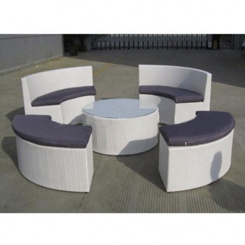 Morden Round Rattan Outdoor Furniture