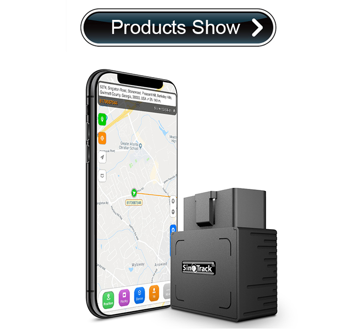 SinoTrack ST-902 Auto Tracker Real Time Online OBD GPS Tracker No Need To Install