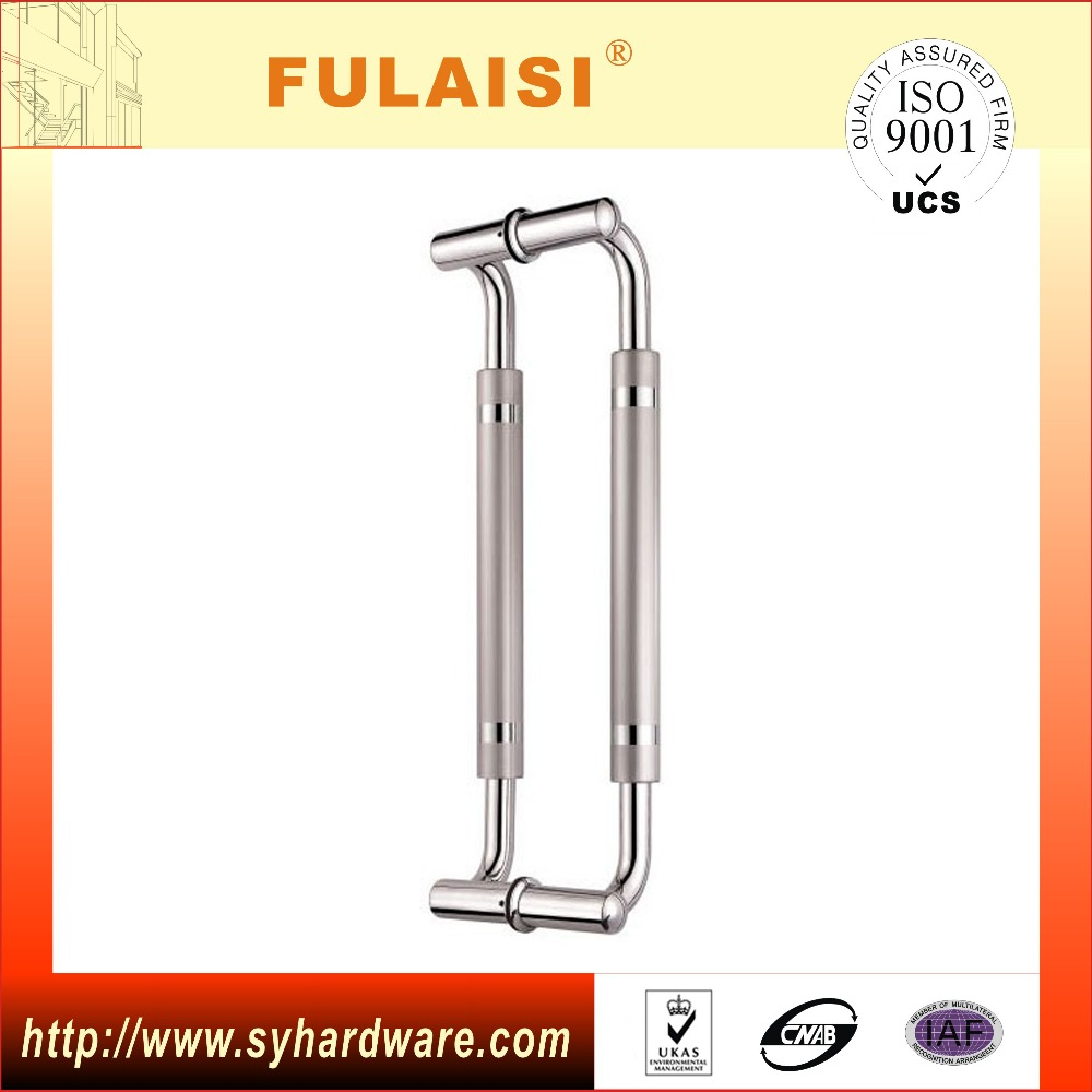 2016 New Design Out Door Mid Satin H Shape Handle Pull Handle