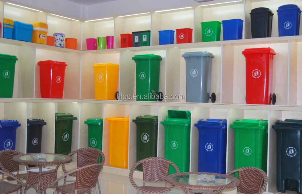 240l Foot Pedal Sanitary Bin/foot Operated Waste Bins/plastic Hopper Bins -  Buy Foot Pedal Sanitary Bin,Foot Operated Waste Bins,Plastic Hopper Bins