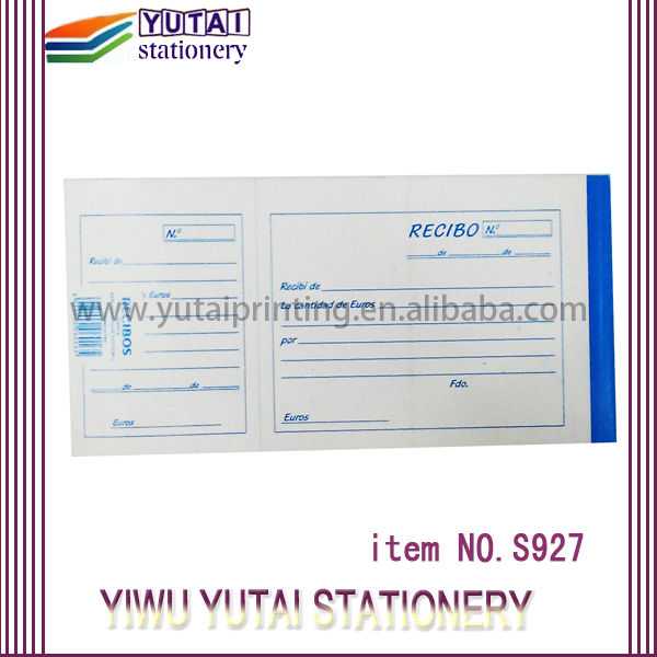 Yutai Hotel Bill Receipt Sample Hotel Receipt - Buy Hotel Booking ...
