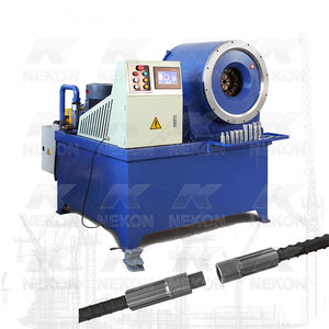 Automatic Rebar Coupler Swaging machine