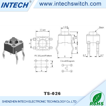 waterproof electrical push button switches micro tact switches ultra  miniature micro switch manufacturers