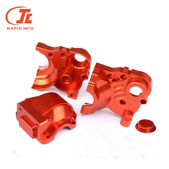 CNC Machining Aluminum <strong>Parts</strong> With Hard Anodizing Machining service high precision