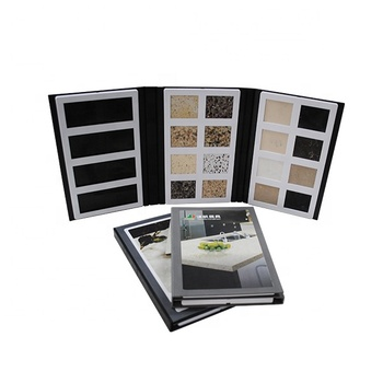 Quartz Stone Sample Book for Stone Tile Sample Display