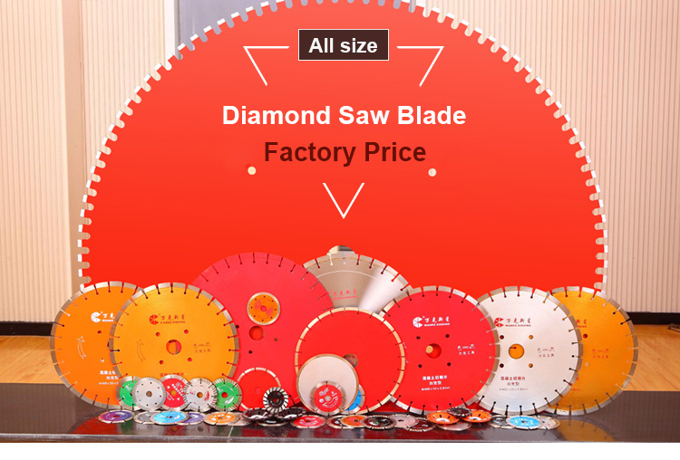 Vitrified Tile Cutting Tools Mesh Turbo Diamond Saw Blade