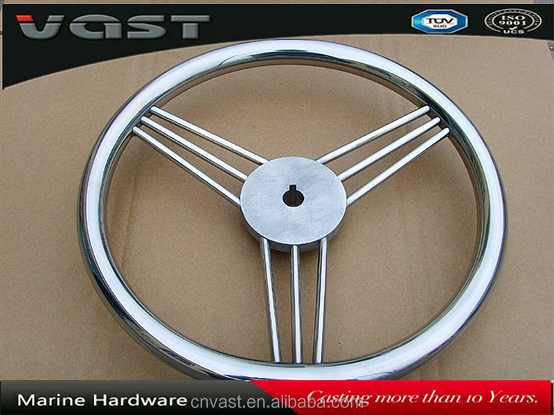 stainless steel 316 Steering Wheel for boat,boat steering wheels for sale,marine steering wheel