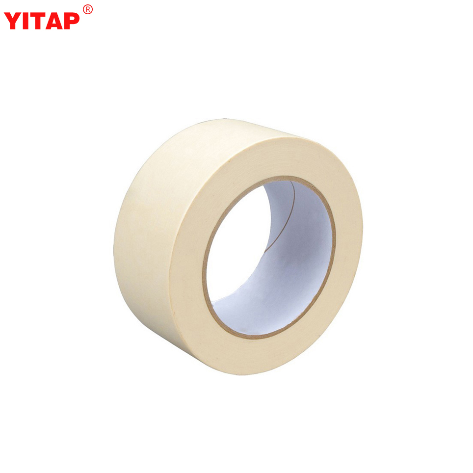 Heat Resistant White Painters Tape Crepe Paper With Acrylic Adhesive Buy White Painters Tape Tape Crepe Paper With Acrylic Adhesive White Painters