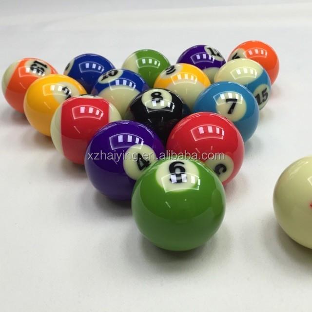 Decorative Customed Logo Billiards And Snook Ball
